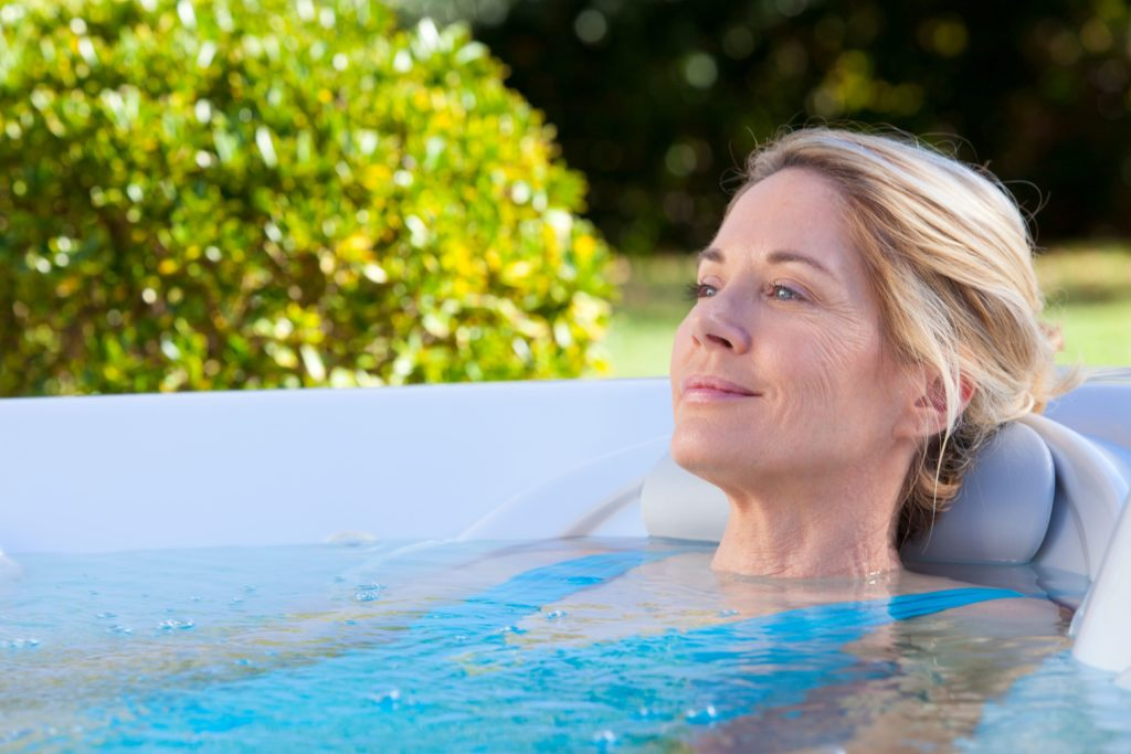Do hot tubs help headaches and tension?