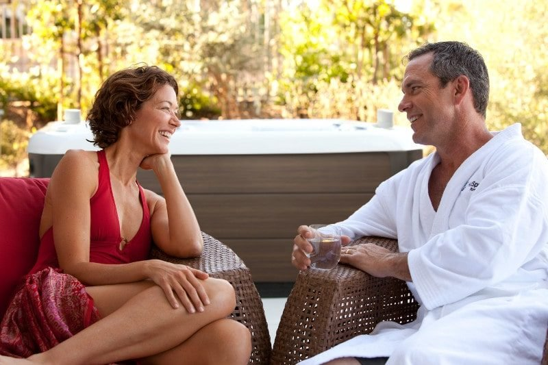 When you own your own private hot tub for couples, you can use it whenever you like.