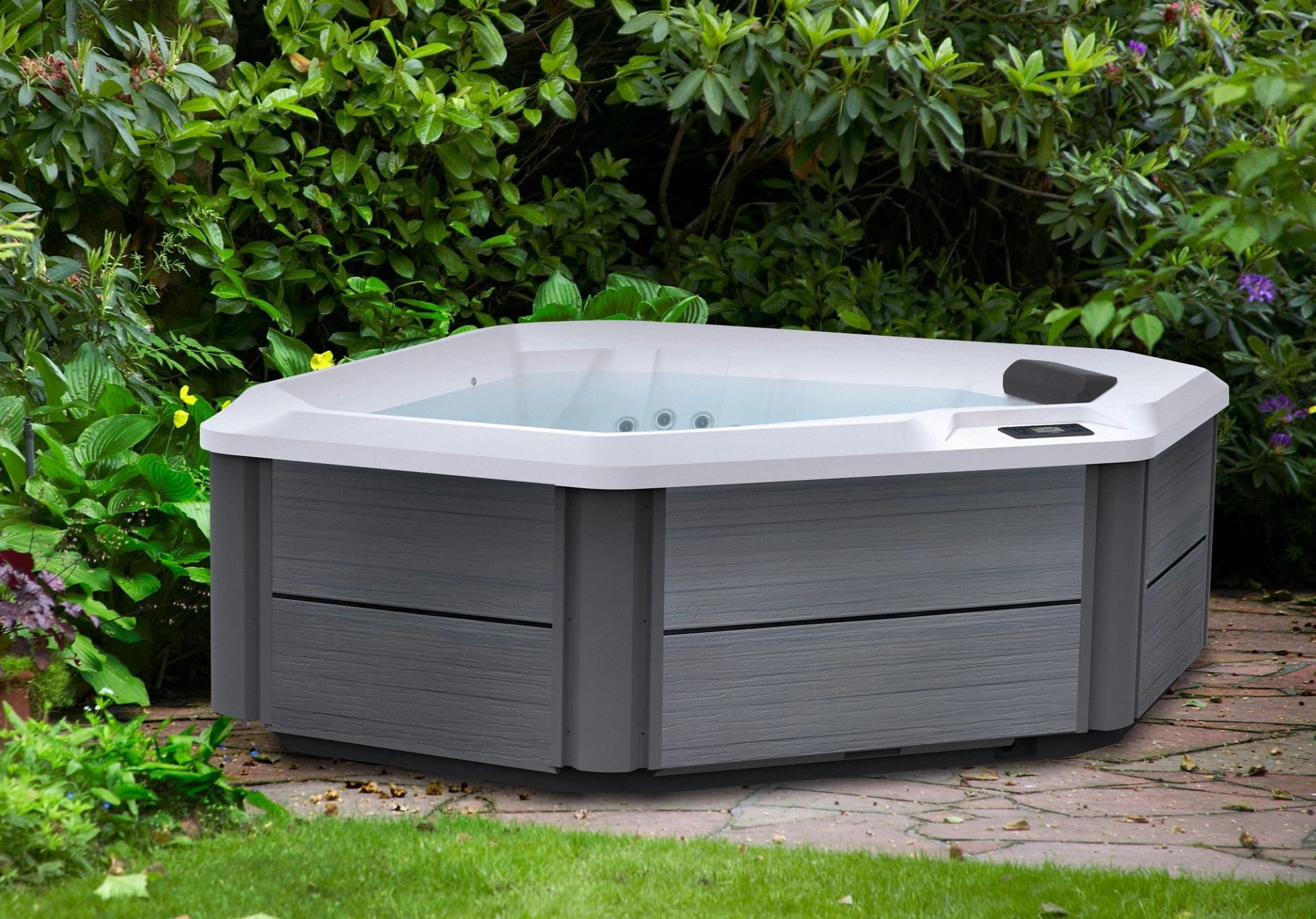 Hot Spot TX Spas fit perfect in any yard